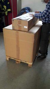 Das 600 Kilo-Paket!