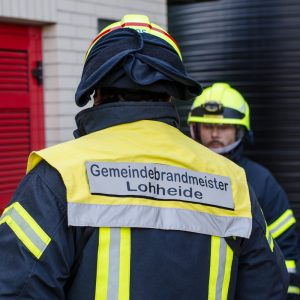 Gemeindebrandmeister Jens Witthöft