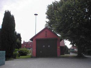 Unser altes Gerätehaus von Außen