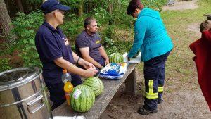 Wassermelone als Snack für Zwischendurch